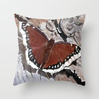 Cloak Of Mourning Butter… Throw Pillow