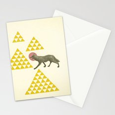 Mountain Wolf Stationery Cards
