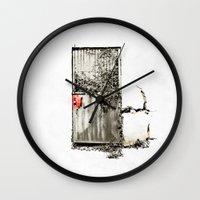 Past/Present/Future Wall Clock