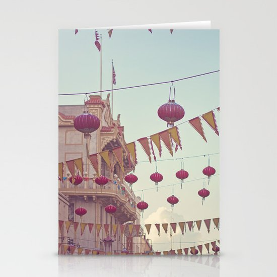 Chinatown Stationery Card