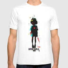UNDERTALE SMALL White Mens Fitted Tee