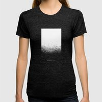 Monolith Womens Fitted Tee Tri-Black SMALL
