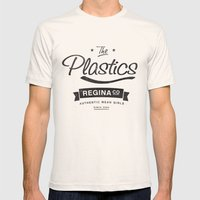 The Plastics - from the movie Mean Girls starring Lindsay Lohan Mens Fitted Tee Natural SMALL