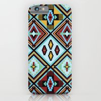 iPhone & iPod Case featuring NATIVE AMERICAN PRINT by peanutbuttajennie