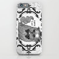 iPhone Cases featuring Love Cat by AKIKO