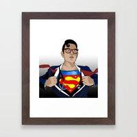 Superdoc Framed Art Print