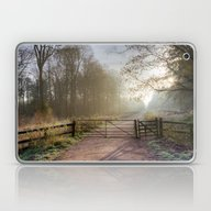 Spruce Ride Sunrise Laptop & iPad Skin