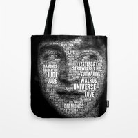 The Fab Four Songs - Joh… Tote Bag