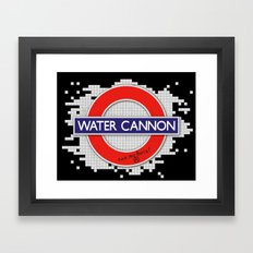 Water Cannon Framed Art Print
