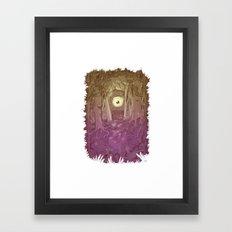 Forest Eye Framed Art Print