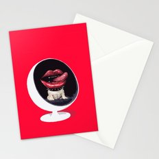 Dog mouth Stationery Cards