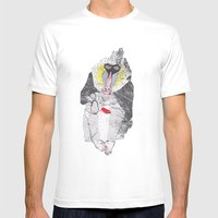 boon Mens Fitted Tee White SMALL