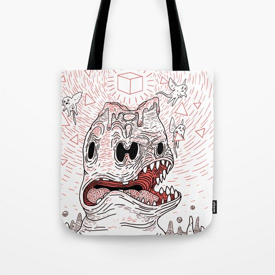 Triangles Are Tasty Tote Bag