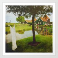 romantic Holland ^_^  Art Print