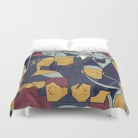 The Return of the King Duvet Cover