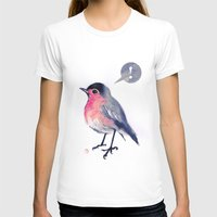 Robin Gettin An Epiphany Womens Fitted Tee White SMALL
