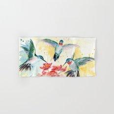Hummingbird Party Hand & Bath Towel