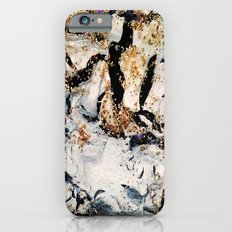 gray&gold  marble Slim Case iPhone 6s