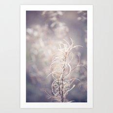 Winter Whispering Art Print