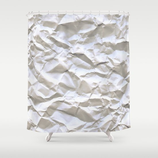 White Trash Shower Curtain