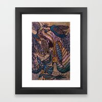Birds (2) Framed Art Print