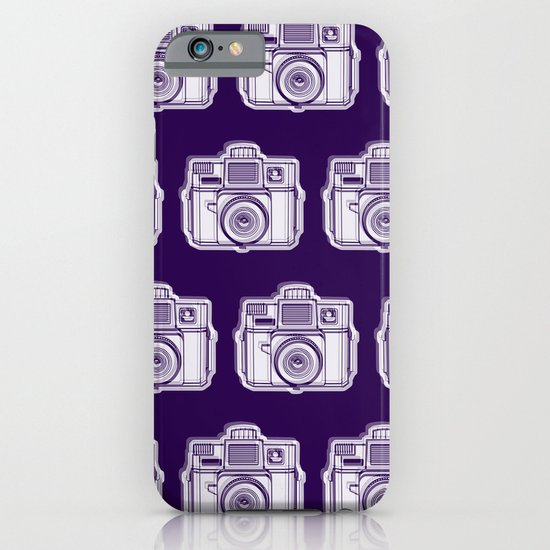 I Still Shoot Film Holga Logo - Reversed Deep Purple iPhone & iPod Case