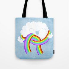 Mr clouds new scarf Tote Bag