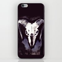 Cephalomancy iPhone & iPod Skin