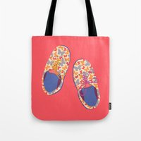 Butterfly Shoes Tote Bag