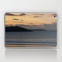 Evening Skies Over Polze… Laptop & iPad Skin