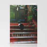 Meowy Christmas Stationery Cards