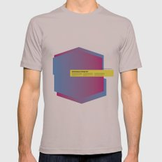Impossible Symmetry - Ex Mens Fitted Tee Cinder SMALL