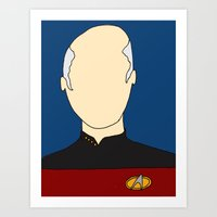 O Captain! My Captain! Art Print
