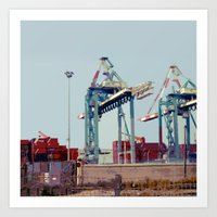The Port Art Print