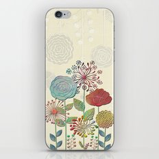 Flower Tales iPhone & iPod Skin