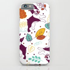Happy Fall, Dogs! (Boston) iPhone 6s Slim Case