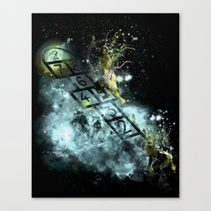 playing a game without even knowing if there's something to win Canvas Print