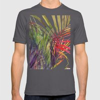 The Jungle vol 3 Mens Fitted Tee Asphalt SMALL