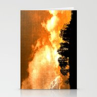 Mystical Hill Stationery Cards