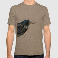 My Rook Mens Fitted Tee Tri-Coffee SMALL