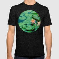Lily Pond Mens Fitted Tee Tri-Black SMALL