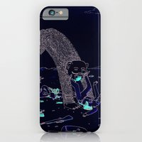 iPhone & iPod Case featuring Pey Monster by Nate Twombly