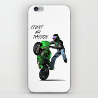 Stunt My Passion iPhone & iPod Skin