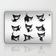 Cat Laptop & iPad Skin