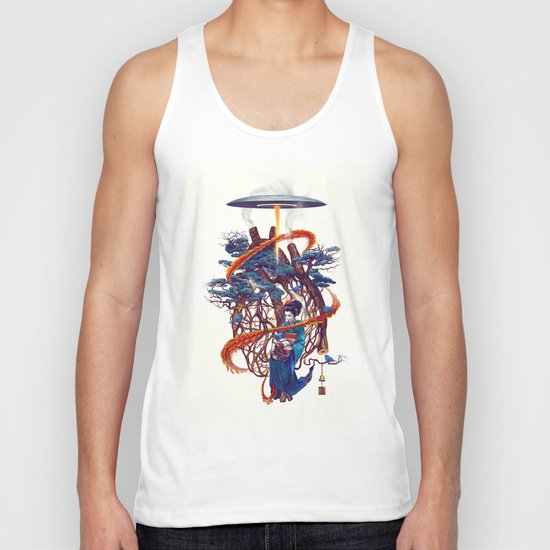 Pine container Unisex Tank Top