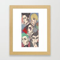 Fantastic Baby Framed Art Print