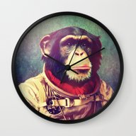 Wall Clock featuring Above And Beyond by Rubbishmonkey