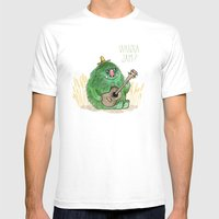 Monster Jam Mens Fitted Tee White SMALL