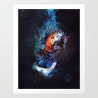 Tear Drop Art Print