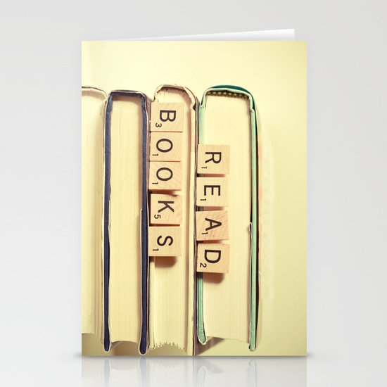 Read Books Stationery Card